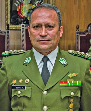 Potosí tiene un nuevo comandante policial