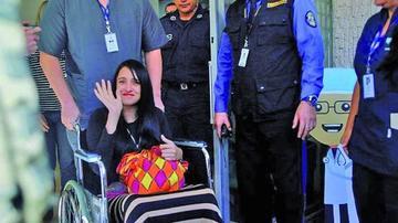 La superviviente Ximena Suárez queda sin dinero