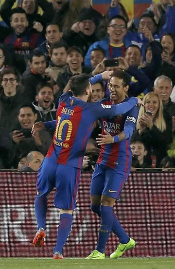 Barcelona golea 5-0 a Celta