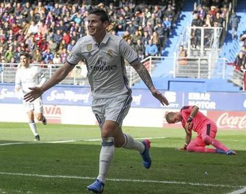 Real Madrid se exhibe con una goleada al Eibar