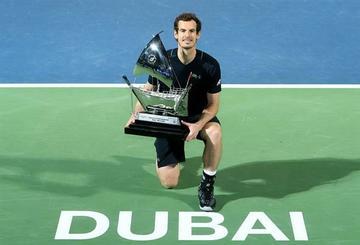 Murray gana por primera vez en Dubai
