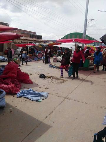 El comercio disminuyó debido a las fiestas del carnaval potosino