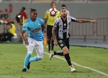Santos rescata un empate ante Sporting Cristal