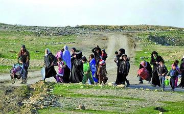 Ofensiva antiyihadista provoca 300.000 desplazados en Irak