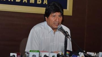 Presidente Evo cree que la justicia perdonó a Fernández