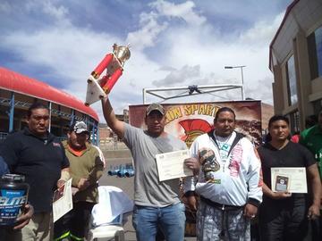 Estrada se corona como el Hombre más Fuerte de Potosí
