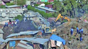 Deslizamiento de tierra deja 46 personas fallecidas en Etiopía