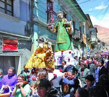 Festejan con misa a San Juan de Dios