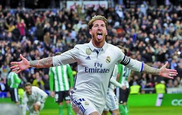 Real Madrid recupera el liderato tras vencer a Betis