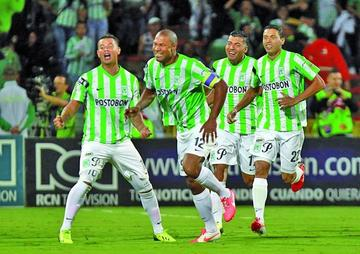 Atlético Nacional entra en escena