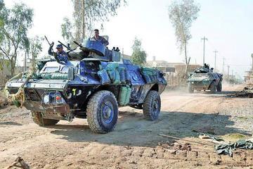 Fuerzas iraquíes luchan con yihadistas en casco histórico