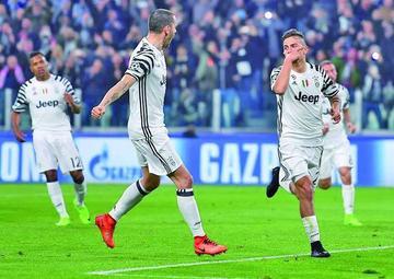 Juventus se mete en cuartos de final
