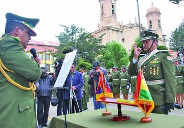 Posesionan al nuevo comandante de la Policía de Potosí