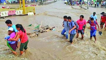 Perú incrementa su presupuesto de asistencia ante daños por  lluvias