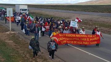El magisterio urbano reforzará las protestas en la ciudad de La Paz
