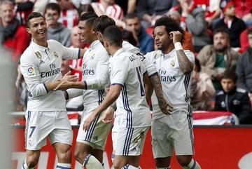 Real Madrid gana y fortalece su liderato