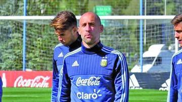 Zabaleta se cae de la convocatoria de Argentina