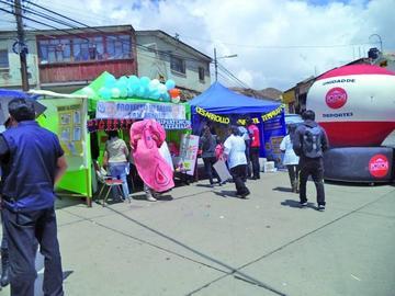 San Benito desarrolla su feria de salud preventiva