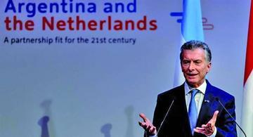 Macri busca inversiones en Holanda y consolida cooperación diversificada