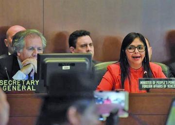 Venezuela acusa de injerencia a la OEA junto a otros 14 países