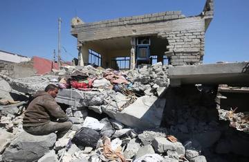 Ofensiva en Mosul es lenta por afluencia de civiles y mal tiempo