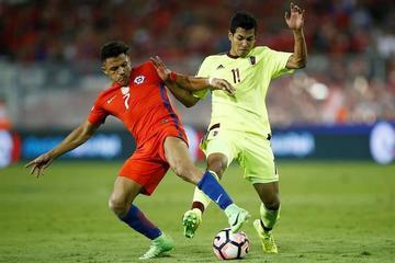 Chile gana y se mete en zona de clasificación directa