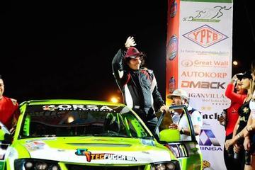 "Careaga está listo para correr el ""Mundial de Rally Junior"""