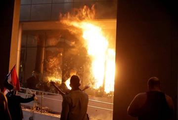 Destituyen a ministro tras disturbios en Paraguay