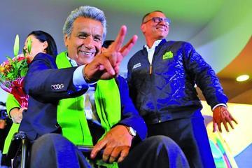 El oficialista Lenín Moreno es el nuevo presidente de Ecuador