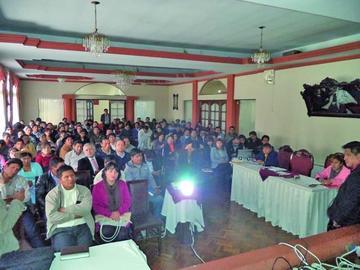 Evalúan indicadores en salud de Potosí