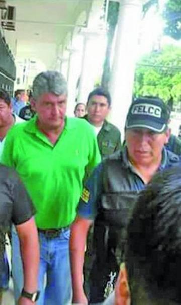 El Tribunal de Justicia de Beni le niega la libertad a Ernesto Suárez