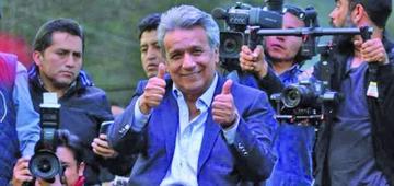 Confirman el triunfo de Moreno en las presidenciales de Ecuador