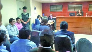 Defensa de los nueve detenidos presentará dos acciones judiciales