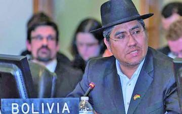 Tildan de vergonzoso el rol de Pary en el Consejo de la OEA