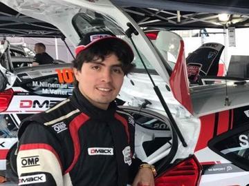 Careaga hace su debut en el automovilismo internacional