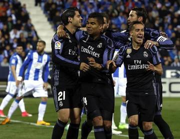 Real Madrid vence 4-2 a Leganés