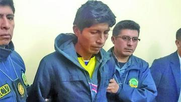Hombre que acuchilló 9 veces a su hijo va a la cárcel de Chonchocoro