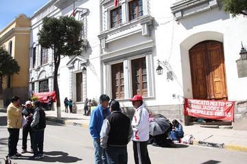 Municipales amenazan con la huelga indefinida
