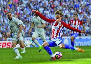 Atlético de Madrid consigue un empate ante Real