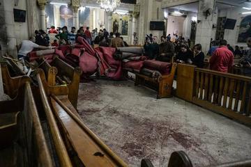 Atentados terroristas en Egipto causan 44 personas fallecidas