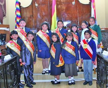 Niños concejales tienen propuestas