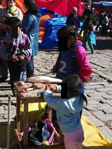 Crece el trabajo infantil en el comercio informal local