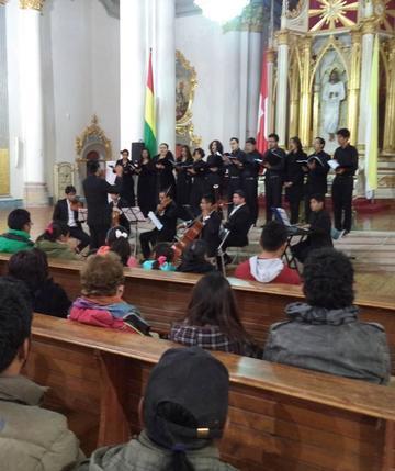 El sacro barroco se escuchó en concierto