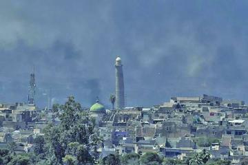 Ofensiva en Mosul avanza lenta y hay civiles atrapados