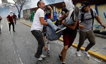 Ya son siete muertos en Venezuela en las protestas contra Maduro