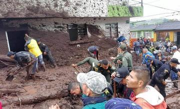 Las lluvias en Colombia causan 17 personas muertas y daños