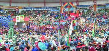 Potosí será sede del XVI Congreso de la Csutcb