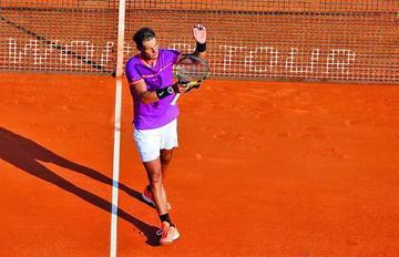 Nadal y Ramos juegan la final de Montecarlo