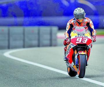 Márquez es el más rápido en el Gran Premio de Austin