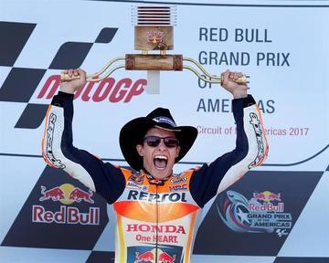 Márquez suma su quinta victoria consecutiva en Austin